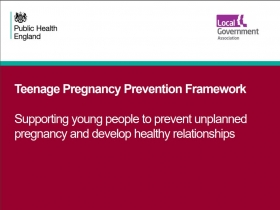Teenage pregnancy prevention framework