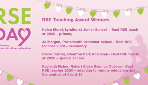 And the winners are... RSE Teaching Awards 2020