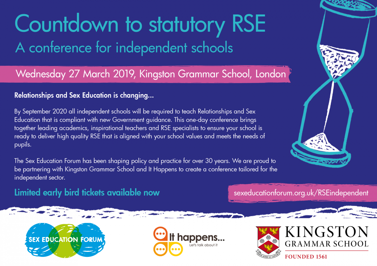 Independent schools conference flyer